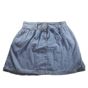 Denim Chambray Skirt 5/25